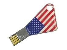 Key USB 2.0 with National Flag logo for Promotion!!!