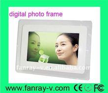 10.2 inch full function digital frame, battery powered,800*480