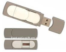 new white Fingerprint recognition USB flash drives