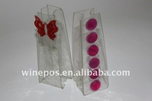 color gel wine bags pvc Butterfly
