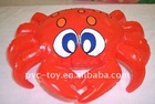 promotional pvc toy newest inflatable crab for kids