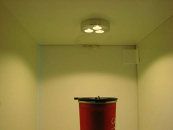 UL approve 3w surface or recessed mount LED Puck light