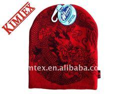 Red Trend Ski Hat
