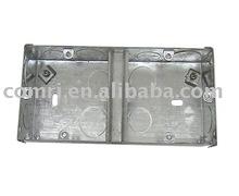 metal box(BS standard / 1gang + 1gang)