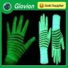 Best selling christmas item glow in dark luminous gloves