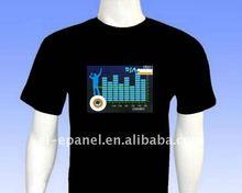Sound active Equalizer EL T-shirt