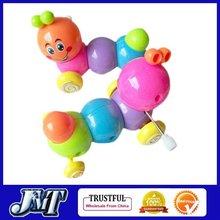 F01964-2 2pcs Clockwork Spring Climbing Carpenterworm Worm Funny Toy , Christmas / Festival / Children / kid Gift
