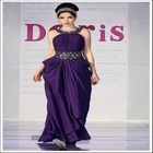 DORISQUEEN A-Line Fashion Jewel frock design dress & Sexy Elegant frock design dress For Charming Lady