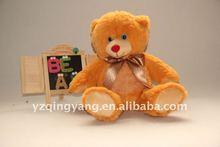 factory supply hot sell 30cm plush teddy bear soft animal toy