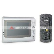 7 Inch Color TFT LCD 300KP CMOS Video Intercom Doorphone/Doorbell System With 3pcs Music