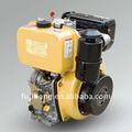 4.5 caballos de fuerza del kama de aire elctric mannual del comienzo refrescaron motor diesel vertical del solo cilindro de 4 ciclos el pequeño para la venta