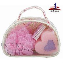 Promotion bathing gift set in PVC bag