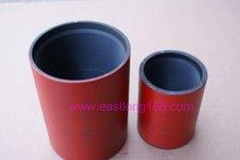 api 5ct seamless steel drilling pipe fitting couplings/collars/nipple