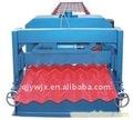 40-256-768 vidros automático de aço leve telhado/ painel de parede que faz a máquina