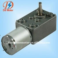12v 150rpm 46mm dc worm electric motor DS-46SW370