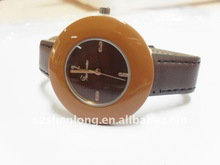 coffee color watch dial and strap fashion new design