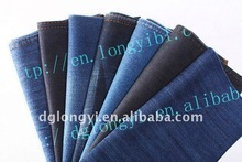 2012 pure100 cotton denim fabric for women twill denim jeans