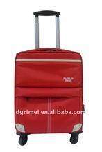 2011 Fashionable Plastic Aluminum Travel Bags/Aluminum Travel Luggage Case