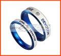 anelli in acciaio chirurgico in acciaio inox anelli vacumn pietra placcatura in acciaio anello di nozze