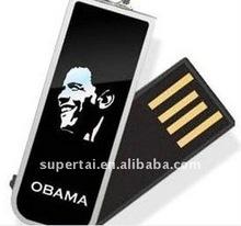 OEM logo print swivel USB 128 MB to 32 GB