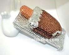 Luxury 3D Diamond Bling Bling Crystal Case for iPhone 4 4G 4S
