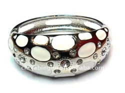 2012 fashion dots paint women bangle