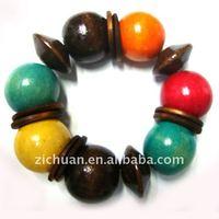 wood bracelets paint