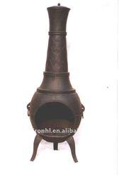 cast iron outdoor chiminea
