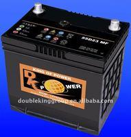 MF car battery of auto parts