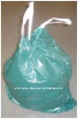 PE draw string garbage bags