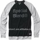 Custom 100% cotton long sleeve t shirts
