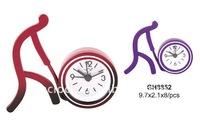 2015 new style souvenir metal table alarm clock
