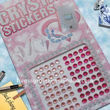 Rhinestone/crystal/gem Jewels stickers-Round