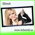 "55"" digital signage ad,lcd advertising TV"