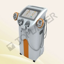 RF multipolar anti aging skin lifting body building rf machine