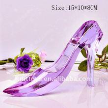 Sapatos de cristal da princesa