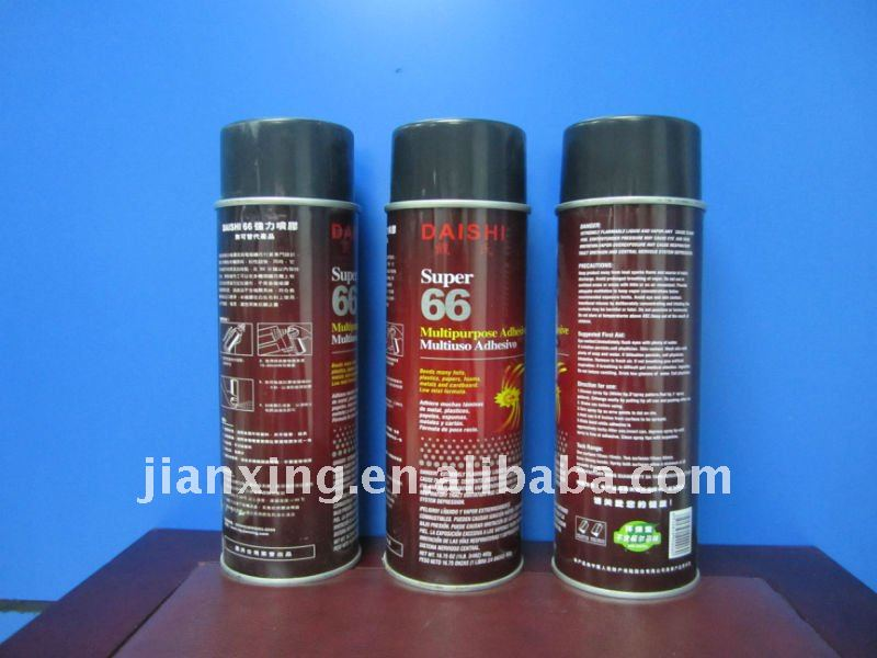 Embroidery spray adhesive