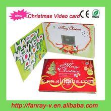 Super hot 2012 fashion christmas card