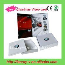 Super hot 2012 novety christmas card