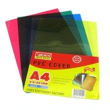 PVC BINDING COVER,pvc book cover-green