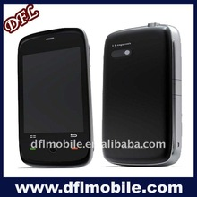 stainless mobile phone w 810 Android 2.1 5.0mp