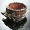 HLB10148genuine leather bracelet with alloy accessories