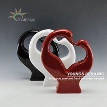 2012 Style Handicraft Swan Ceramic Crafts