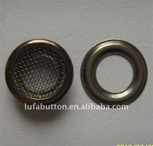 metal mesh eyelet for shoes
