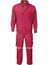 fire resistant oil field work garment