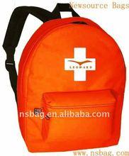 2012 600D polyester backpack emergency bag