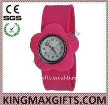 kids silicon slap watch
