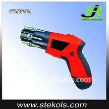 Multi head cordless electric screwdriver