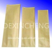 Brown kraft paper coffee tea bags