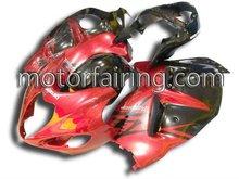 Suzuki hayabusa fairing kit/body work/motorcycle fairings for GSXR1300 97-07 red&black
